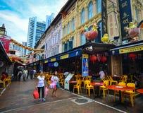 Chinatown της Σιγκαπούρης Στοκ Φωτογραφίες