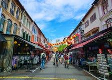 Chinatown της Σιγκαπούρης Στοκ φωτογραφία με δικαίωμα ελεύθερης χρήσης