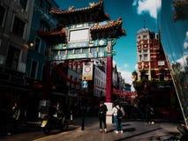 chinatown stockfoto