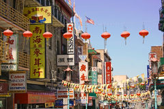 Chinatown Stock Image