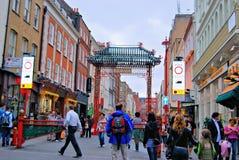 chinatown lizenzfreie stockbilder