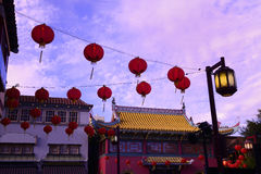 chinatown arkivfoton