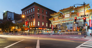 Chinatown arch Royalty Free Stock Photo