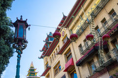 Chinatown Architecture Royalty Free Stock Photos