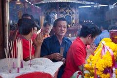 Chinatown, Bangkok, during the Chinese New Year Stock Photo