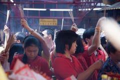 Chinatown, Bangkok, durante el Año Nuevo chino Fotos de archivo