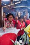 Chinatown, Bangkok, durante el Año Nuevo chino Imagenes de archivo