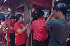 Chinatown, Bangkok, durante el Año Nuevo chino Fotografía de archivo