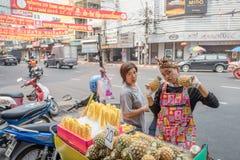 Chinatown in Bangkok Royalty Free Stock Photography