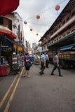 Chinatown-Bezirk von Singapur Lizenzfreies Stockbild