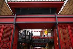 Chinatown, Birmingham Reino Unido por el Año Nuevo chino 2018 Imagenes de archivo
