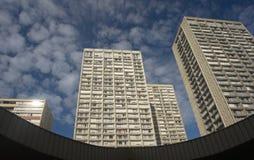 Chinatown building in paris Stock Image