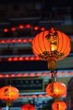 A Chinese Lamp. China town in bangkok thailand Stock Images