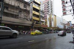 Chinatown-Chinesisches Neujahrsfest in Thailand Stockfoto