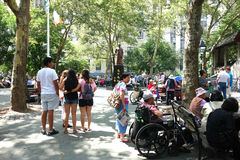 New York City Chinatown Stock Image