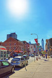 Chinatown in de PA van Philadelphia Stock Fotografie