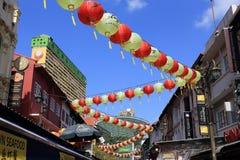 Chinatown de Singapour Photographie stock libre de droits
