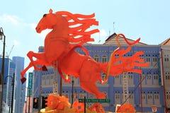 Chinatown de Singapour Images libres de droits