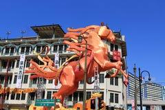Chinatown de Singapour Photographie stock