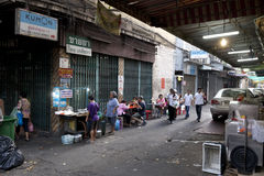 Chinatown di Bangkok Immagini Stock