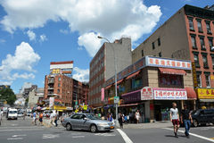 Chinatown district in NYC Stock Photography