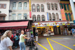 Chinatown district of Singapore Royalty Free Stock Images