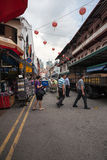Chinatown district of Singapore Royalty Free Stock Image