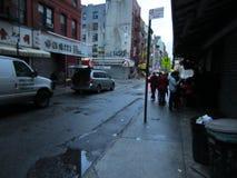 Chinatown dopo l'uragano Sandy Fotografia Stock Libera da Diritti