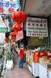 Chinatown em Banguecoque Fotos de Stock
