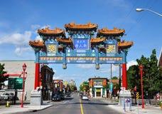 Chinatown em Ottawa, Canadá Fotografia de Stock