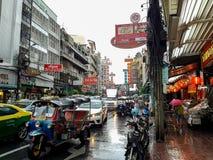 Chinatown en Bangkok foto de archivo libre de regalías