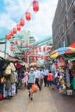 Chinatown en Kuala Lumpur, Malasia Imagen de archivo libre de regalías
