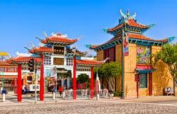 Chinatown en Los Ángeles Fotografía de archivo libre de regalías