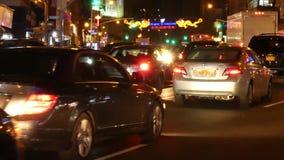 Chinatown en New York City almacen de video