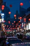 Chinatown en Singapur Imagenes de archivo