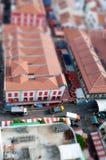 chinatown förskjutningsvippning arkivbild
