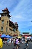 Chinatown fair - chicago stock photo