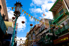 chinatown Francisco SAN ΗΠΑ Στοκ Φωτογραφία