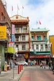 chinatown francisco san Arkivfoton