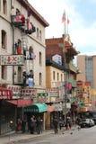 chinatown francisco san Royaltyfria Bilder