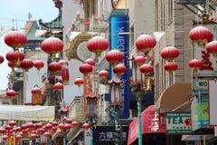 chinatown francisco san Arkivbild