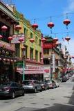 chinatown francisco san Royaltyfri Bild