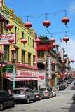 chinatown francisco san Royaltyfri Fotografi