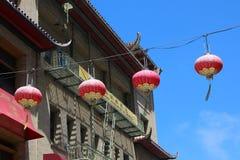 chinatown francisco san Royaltyfri Foto