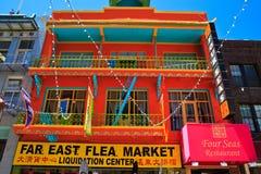 chinatown Francisco SAN Στοκ Φωτογραφία