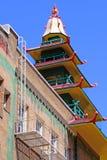 chinatown francisco san Стоковые Фотографии RF