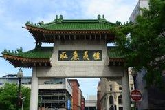 Chinatown Gateway in Boston, Massachusetts Stock Images