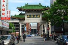 Chinatown Gateway in Boston, Massachusetts Royalty Free Stock Photo