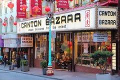 Chinatown het winkelen Royalty-vrije Stock Foto's