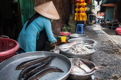 Chinatown in Ho Chi Minh City. Local market . Vietnam. Chinatown in Ho Chi Minh City. Vietnam Royalty Free Stock Images
